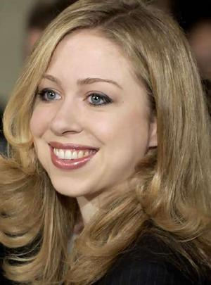 It will be interesting to see where Chelsea Clinton goes in her own right.
