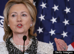 Clinton Holds Major Address On U.S. - China Relations